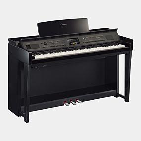 Yamaha CVP-805 Clavinova Polerad Svart Digital Piano