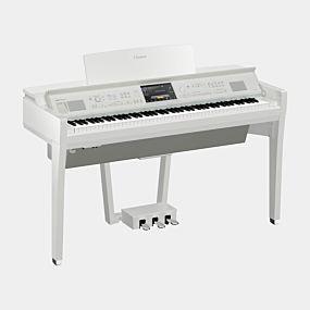 Yamaha CVP-809 Polerad Vit Digital Piano