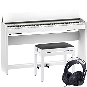 Roland F-701 Vit Digital Piano Paket