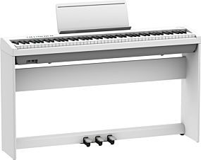 Roland FP-30X Vit Digital Piano med Komplett Uppsättning (KSC-70 + KPD-70)