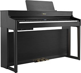 Roland HP-702 Charcoal Black Digital Piano