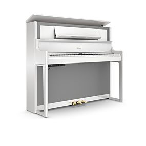 Roland LX-708 Polished White Digital Piano