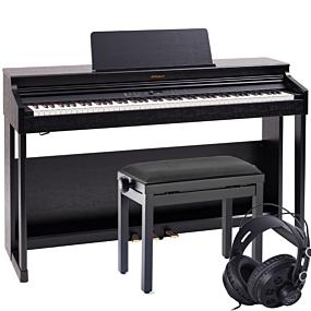 Roland RP-701 Svart Digital Piano Paket