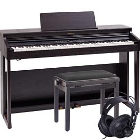 Roland RP-701 Rosenträ Digital Piano Paket