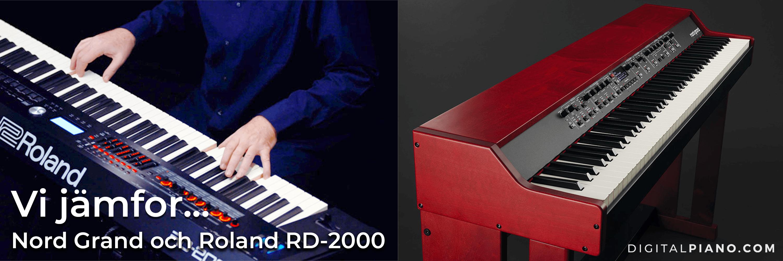 Vi jämför Nord Grand och Roland RD-2000