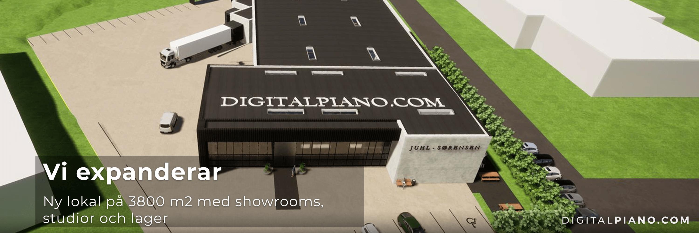 Digitalpiano.com expanderar med ny lokal!