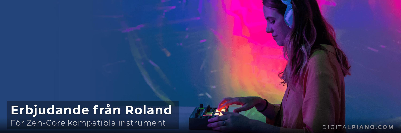 Ett tidsbegränsat erbjudande för utvalda Roland-produkter!
